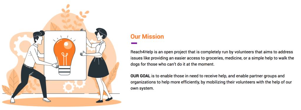 reach4help-mission