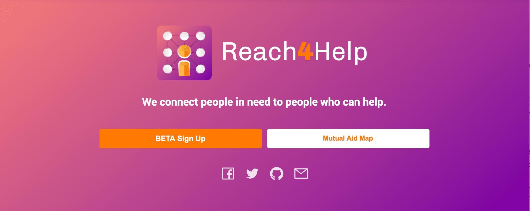 reach4help-signup